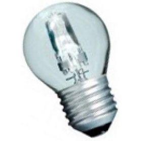Lampada alogena 42W E27 chiaro esférica risparmio (60W) GSC Evolution