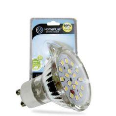 dicroiche lampada GU10 4.6W 6000K 18 LED GSC Evolution