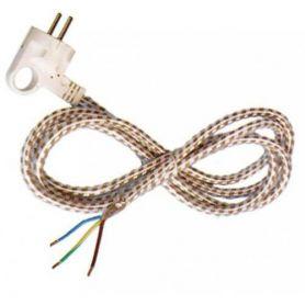 collegamento del cavo in tessuto per il ferro (3x1mm) 1,8m10 / 16A GSC Evolution