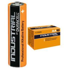 contenitore di batteria alcalina LR06 industriale Duracell 10 unità