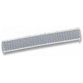 Cieco nastro 50m 22 millimetri grigio con bordi bianchi. Cinbet