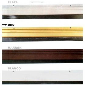 viti per turare 82 centimetri in alluminio rifinita con oro Cesckim