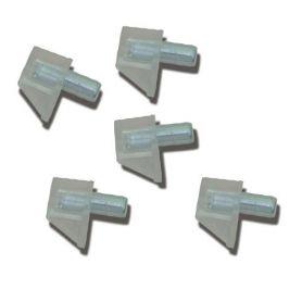 Sicurezza Portaestante 5mm trasparenti (100 unità) Micel