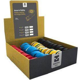 Cinghia di fissaggio per hobby 4 colori assortiti (36 unità) Murtra