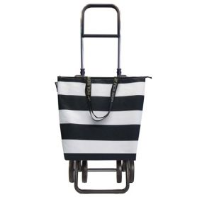 Carrello Mini Bag Lido Logic Plus Two + 2 Bianco / Nero Rolser
