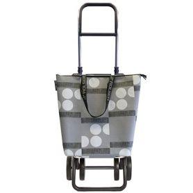 Carrello Collezione Logic Plus Mini Bag Due + 2 grigio Rolser