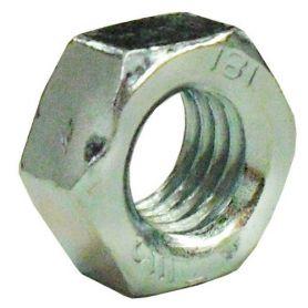 Hex 10 millimetri DIN 934-8 zinco (scatola 100 unità) GFD