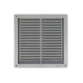 griglia quadrata con zanzara plastica rete cromo 17x17cm kallstrong