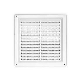griglia quadrata con zanzara plastica rete bianca 17x17cm kallstrong