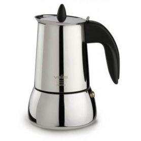 Induzione Acciaio caffè isabella 10 tazze Valira