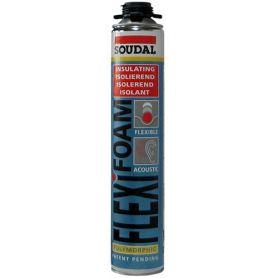 Flexifoam poliuretano espanso acustica 750 ml. (Gun) Soudal
