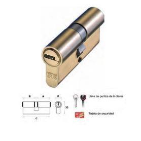 70 millimetri cilindro in ottone 40x30 p 15 fac