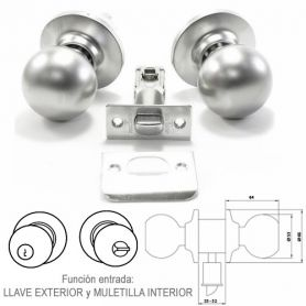 Tesa 3900 lockset