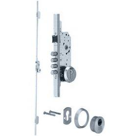 Mortise serratura di sicurezza a 3 punti TLB3 nichel 60 millimetri tesa