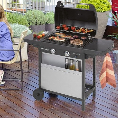 serie barbecue classico 2 a gas lx campingaz. Black Bedroom Furniture Sets. Home Design Ideas