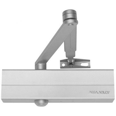 Chiudiporta dc140 braccio articolato vigore argento tesa - Come regolare un chiudiporta ...