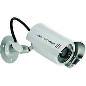telecamera fittizia w / alloggiamento di alluminio interno-esterno tristar