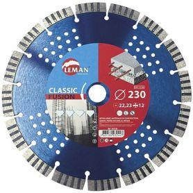 Diamante 230 millimetri disco samurai funziona leman