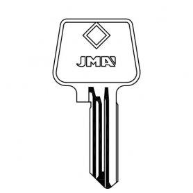 acciaio chiave di sicurezza AZ-7 (sacchetto da 10 pezzi) JMA