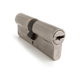 Sicurezza doppio cilindro C2 72 mm (40x32mm) Nickel Lince
