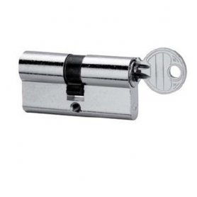 5990/2525/4 mormal cilindro profilato ottone nichelato leva corta CVL