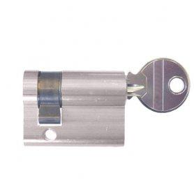 NORMALE CILINDRO Europerfil 5982T40 / 4 ottone nichelato leva lunga CVL