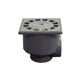 Sifone del lavandino 10x10 SA / orizzontale e verticale 50-40 tecnoagua
