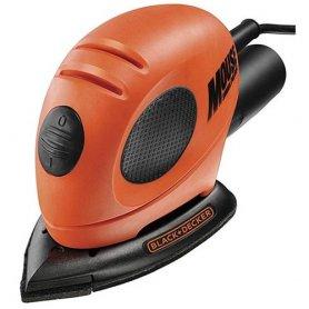 Mouse 55W dettaglio accessori levigatrice KA161-QS Blac e Decker