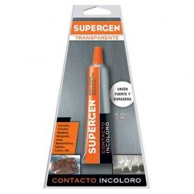 Supergenica incolore colla contatto (blister 20ml) trasparente tesa