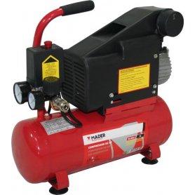 Compressore d'aria 6 litri 1,5HP + pneumatici Kit di accessori Mader