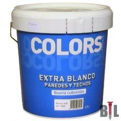 BIANCO EXTRA Vernice di plastica (13 LT) INTERNO MATT MATERIS