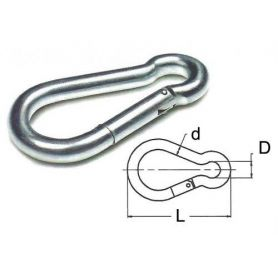 POMPIERE HOOK bianco di zinco 5X50MM DAMESA