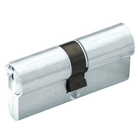 YL5 Europerfil cilindro 70 millimetri di centraggio Nickel Yale Azbe