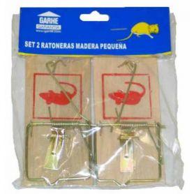 Trappola uccide i topi piccola tavoletta 2 unità Garhe