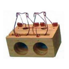 Mousetrap di legno 2 fori Garhe