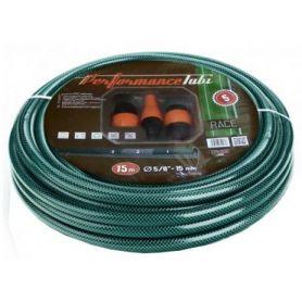 Verde tubo di irrigazione 15mmX10mt Con Kit Pvc