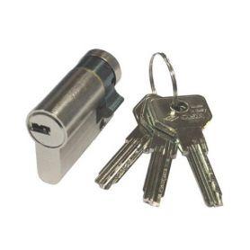 Sicurezza mezzo cilindro europeo Asix 40x10 nichel Cisa