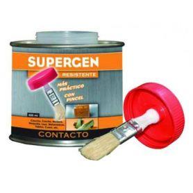 Contatto adesivo pennello bottiglia da 500 ml Supergen