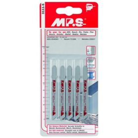 Jig Saw tipo HSS 3 millimetri Bosch 5 pezzi Karpatools