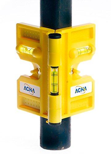 El nivel magnetico 50 acha presenta diversas características que le permiten a la herramienta ser utilizada en diversos lugares como en postes y tuberías metálicas, tanto en posiciones verticales como horizontales.