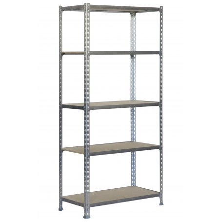 Metalen Rekken Kelder.Gegalvaniseerd Metaal Rekken 5 Hout Houten Planken Maderclick Kit Plus 5 400 Simonrack
