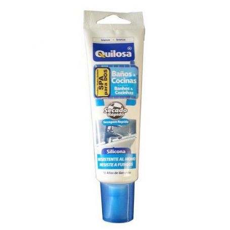 Silicone Keuken en badkamer Quilosa wit 100ml
