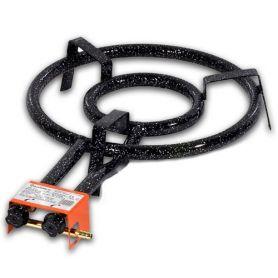 Paellero gás butano - propano Garcima 35 centímetros Preço 2 anéis