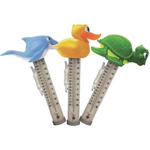 Animais flutuante piscina term metro kokido felizes for Termometro piscina