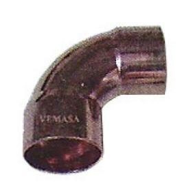 Fêmea-fêmea cotovelo 90 cobre 22 Vemasa