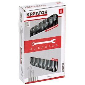 Jogo da chave da combinação (set 8 pedaços) 8-19 mm kreator