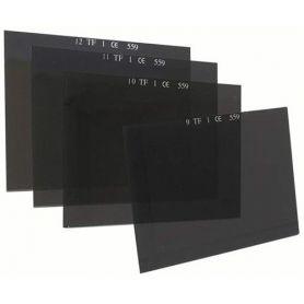 filtrar os cristais de soldadura 90x110 rectangulares personna modelo DIN 559 12