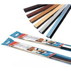 Weatherstrip ADESIVO escova com PVC rígido BASS MAHOGANY DOORS 100CM GEKO