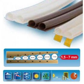 Weatherstripping DOORS adesivos termoplásticos / WINDOWS BRANCO GEKO