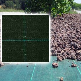 antihierba malha verde-negra Agritex 1,05x100m Intermas